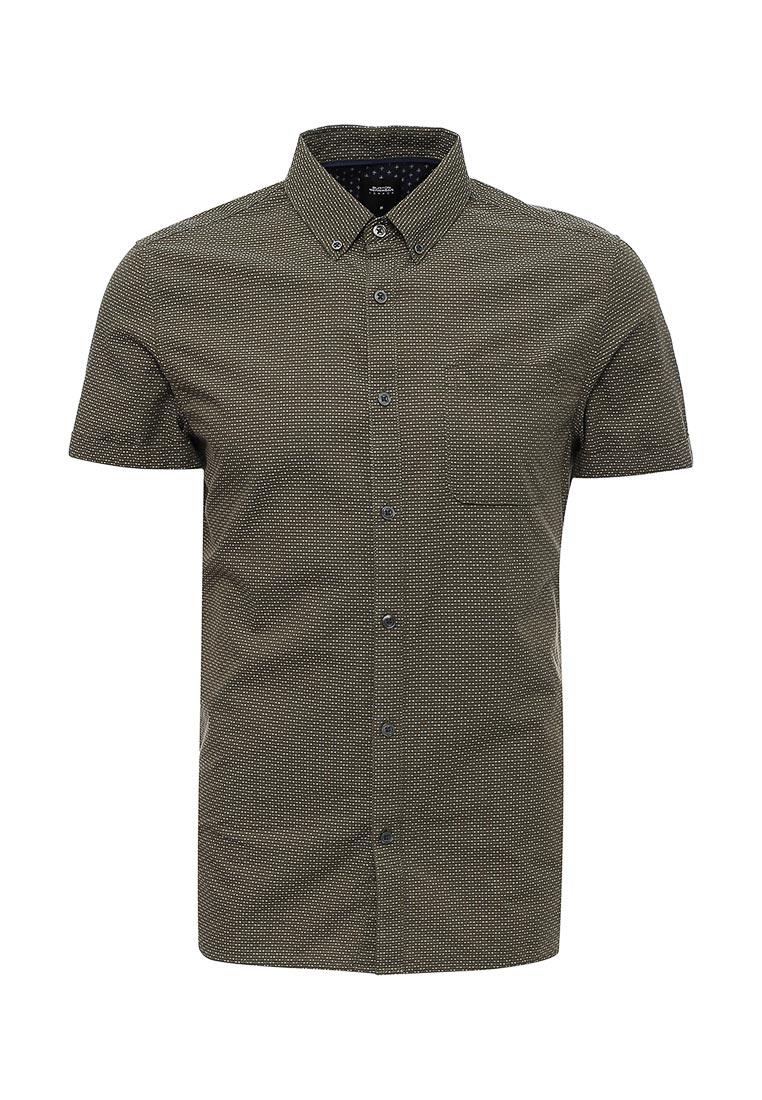 Рубашка с коротким рукавом Burton Menswear London 22T02KGRN