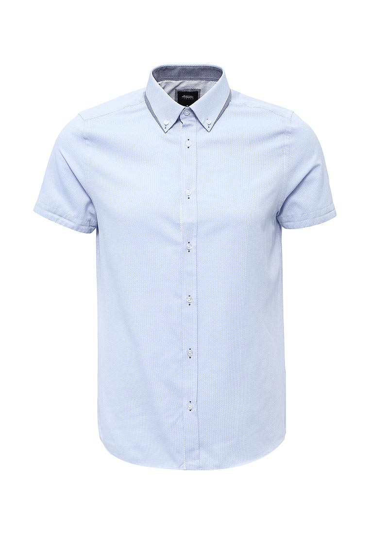 Рубашка с коротким рукавом Burton Menswear London 22D02LBLU