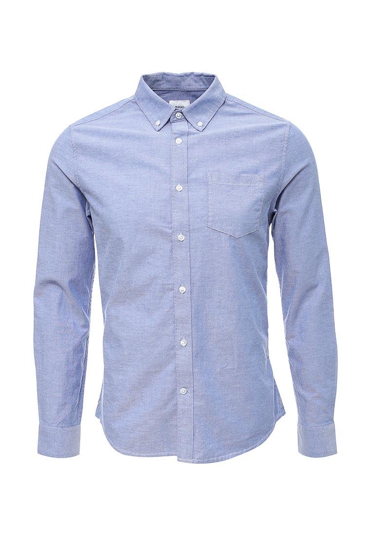 Рубашка с длинным рукавом Burton Menswear London 22O05KBLU