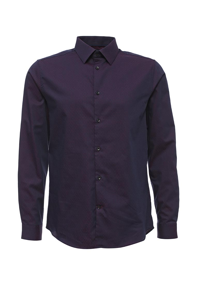 Рубашка с длинным рукавом Burton Menswear London 19F24KPUR