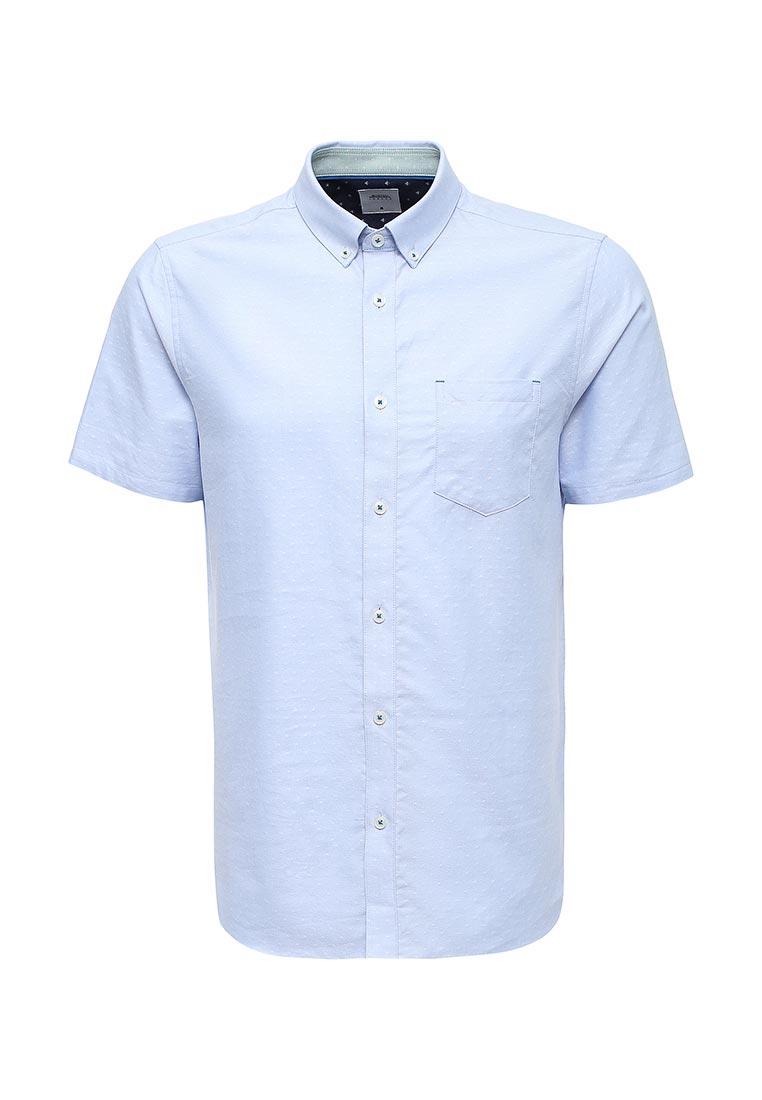 Рубашка с коротким рукавом Burton Menswear London 22D04KBLU