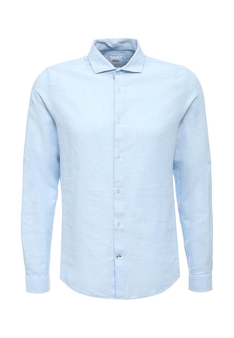 Рубашка с длинным рукавом Burton Menswear London 22L02KBLU