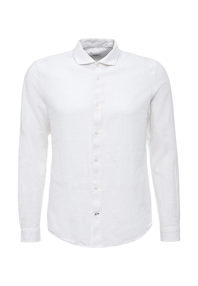 Рубашка с длинным рукавом Burton Menswear London 22L02KWHT