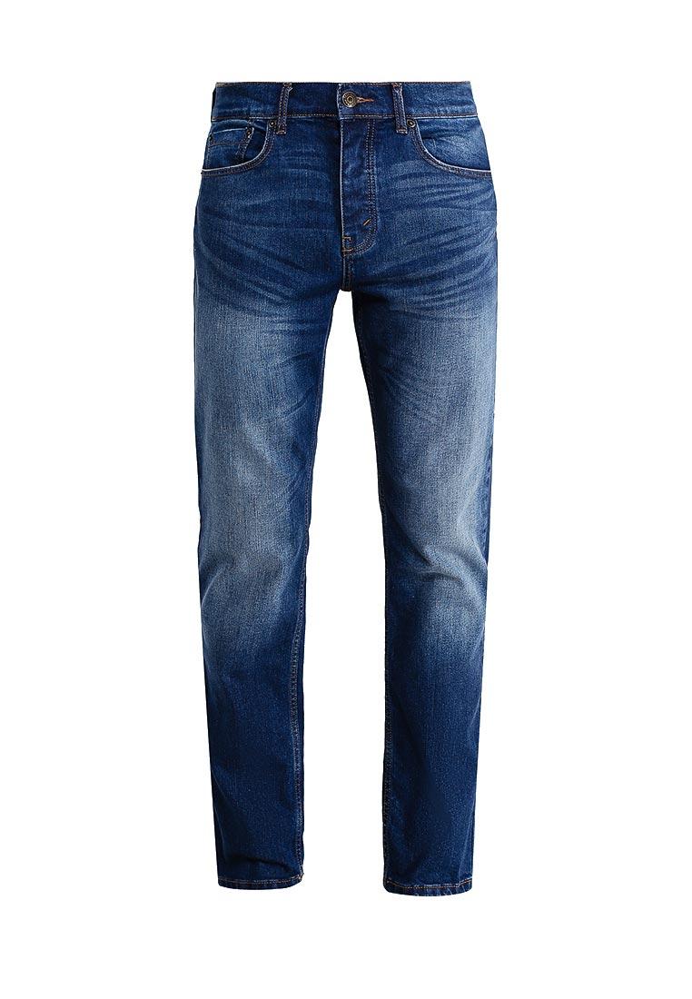 Мужские прямые джинсы Burton Menswear London 12T01LBLU