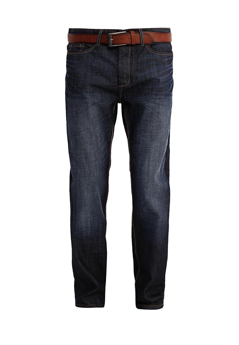 Мужские прямые джинсы Burton Menswear London 12T06KBLU
