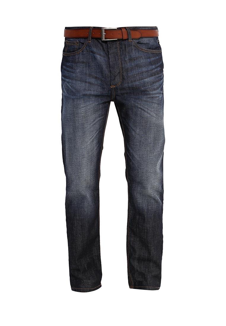 Мужские прямые джинсы Burton Menswear London 12T09JBLU