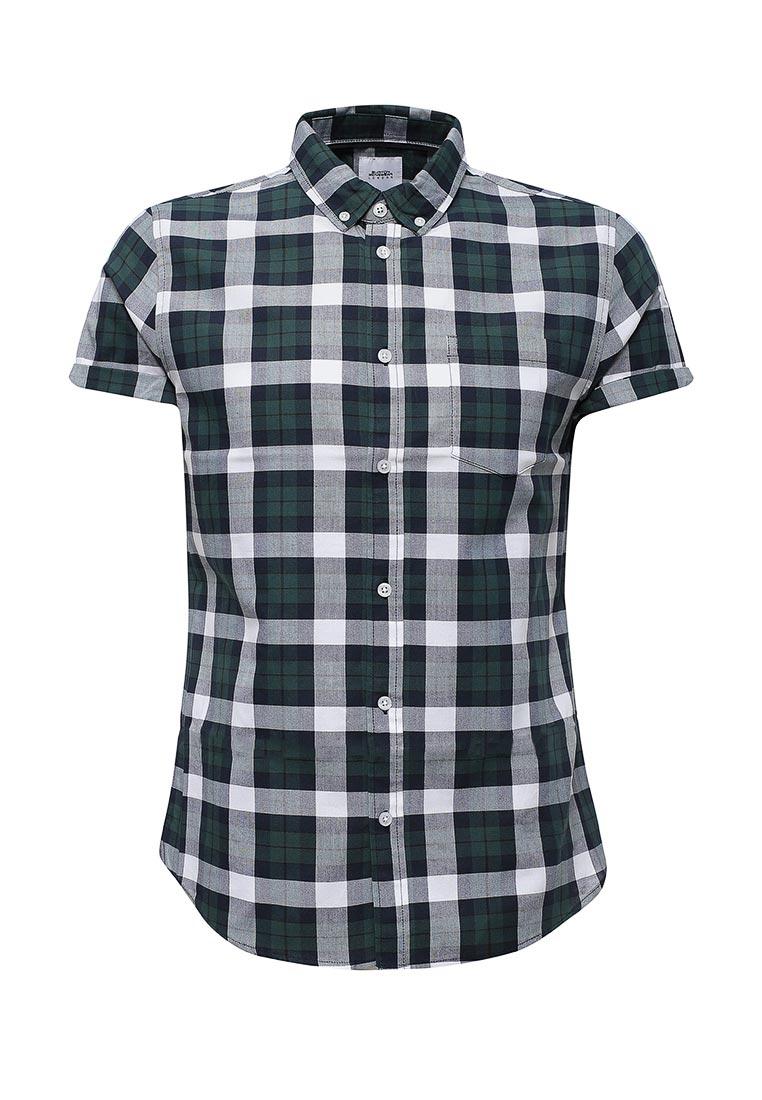 Рубашка с коротким рукавом Burton Menswear London 22C01LGRN