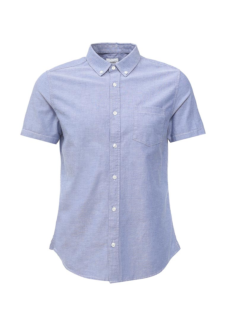 Рубашка с коротким рукавом Burton Menswear London 22O06LBLU
