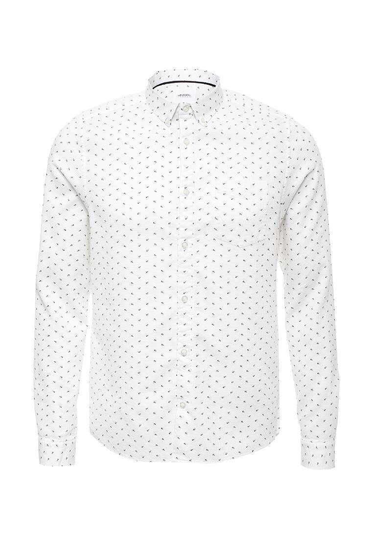 Рубашка с длинным рукавом Burton Menswear London 22P03LWHT