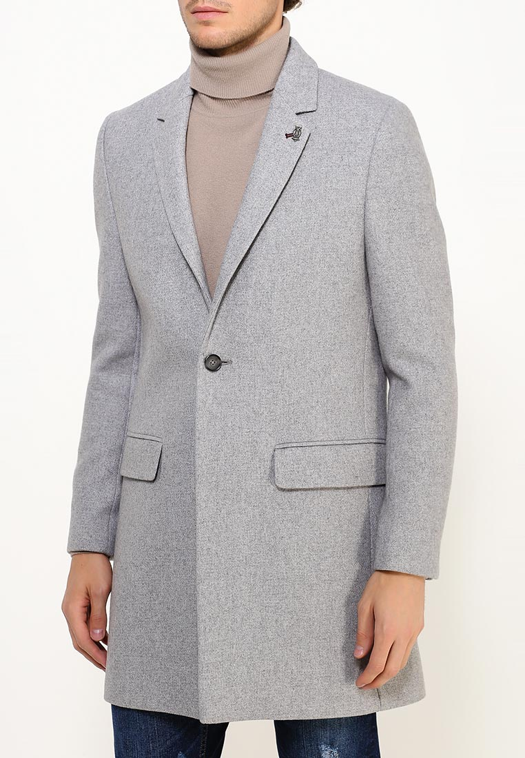 Мужские пальто Burton Menswear London 06W06JGRY: изображение 3
