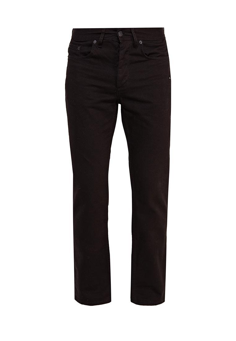 Мужские прямые джинсы Burton Menswear London 12T09KBLK