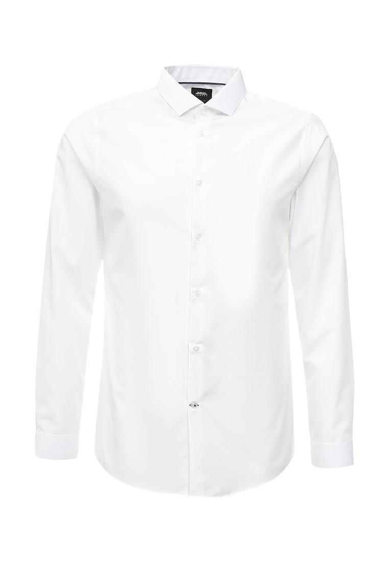 Рубашка с длинным рукавом Burton Menswear London 19E06LWHT