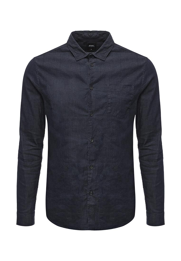 Рубашка с длинным рукавом Burton Menswear London 22D10LBLU
