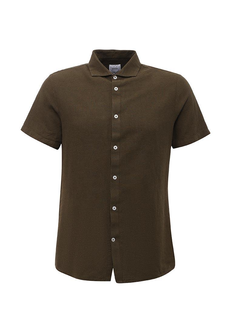 Рубашка с коротким рукавом Burton Menswear London 22L04KGRN