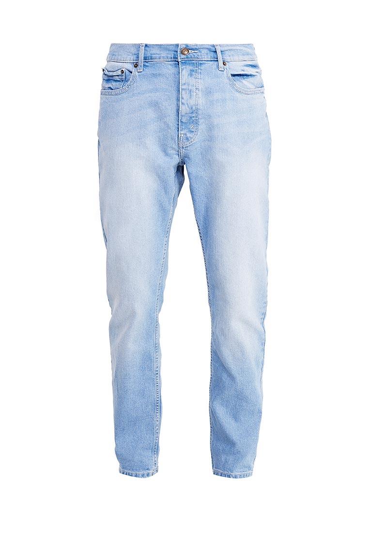 Зауженные джинсы Burton Menswear London 12S17KBLU