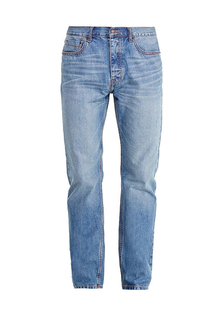 Мужские прямые джинсы Burton Menswear London 12T07LBLU