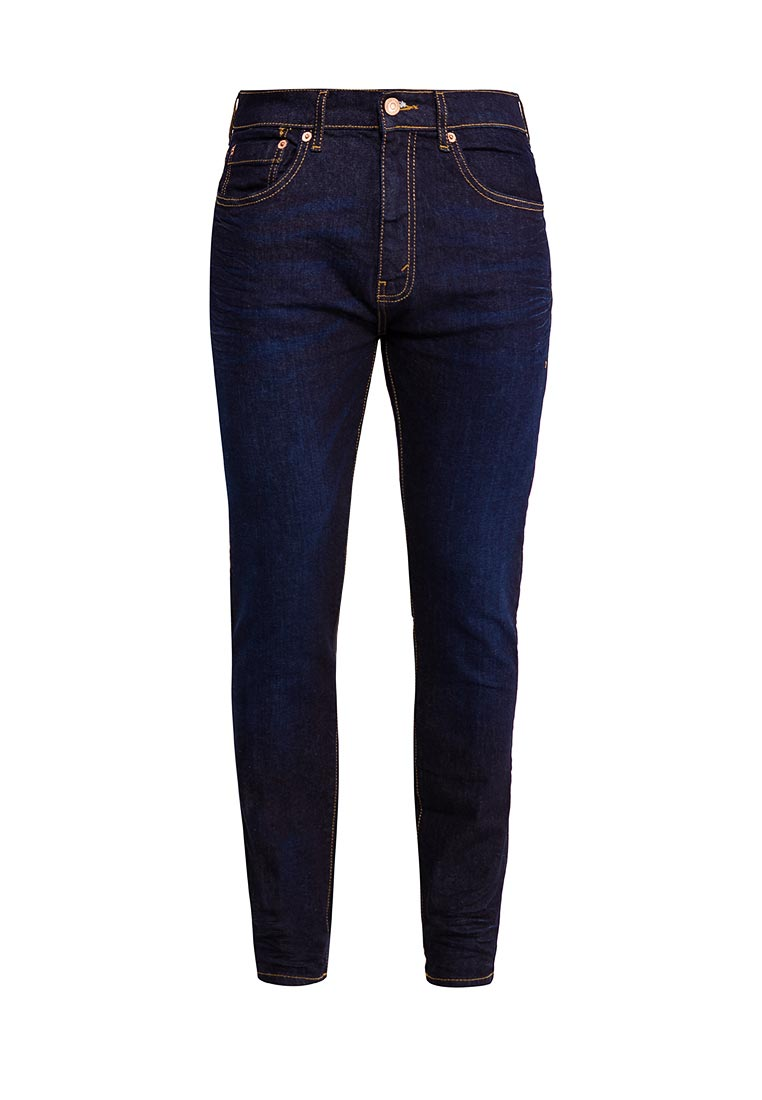 Зауженные джинсы Burton Menswear London 12A06LBLU