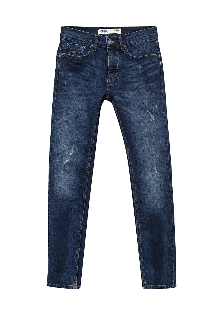Зауженные джинсы Burton Menswear London 12S19KBLU
