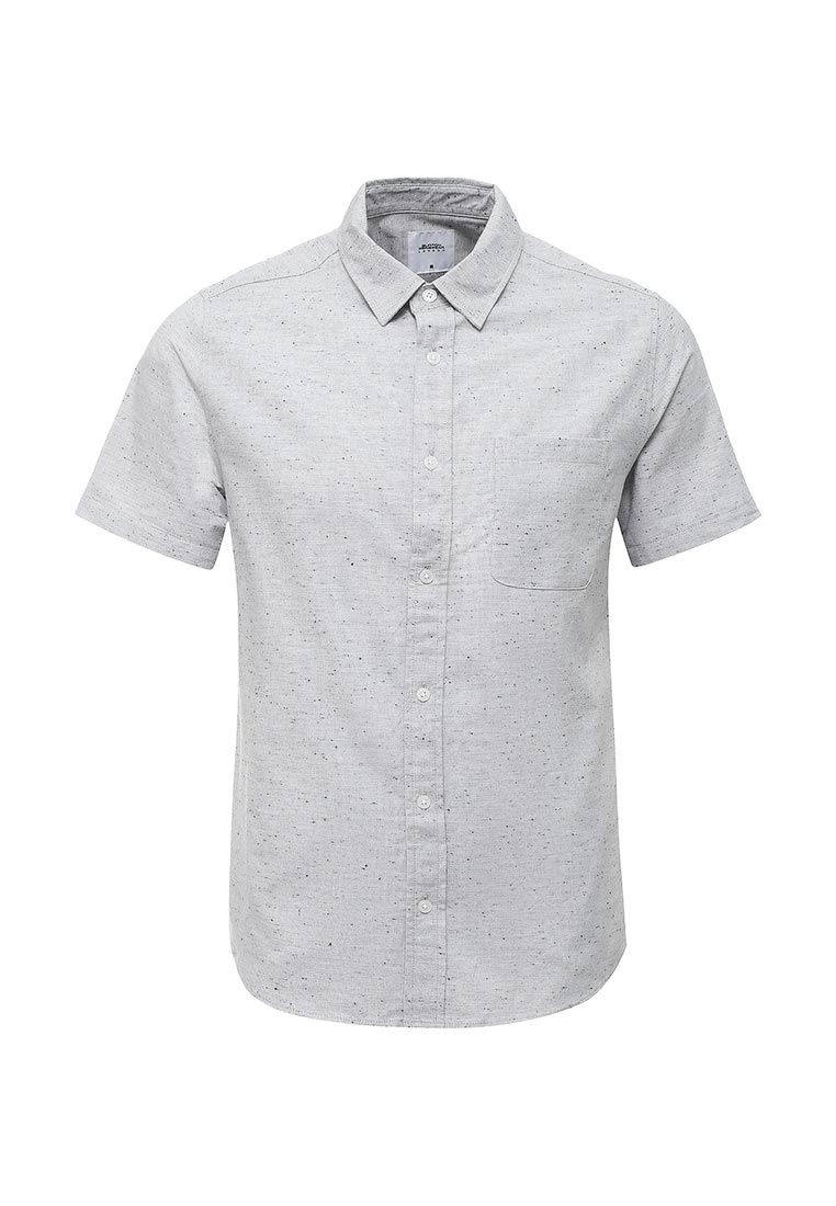 Рубашка с коротким рукавом Burton Menswear London 22T01LGRY