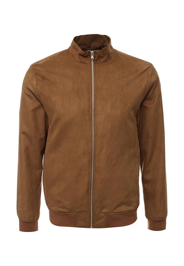 Кожаная куртка Burton Menswear London 06H12LBRN