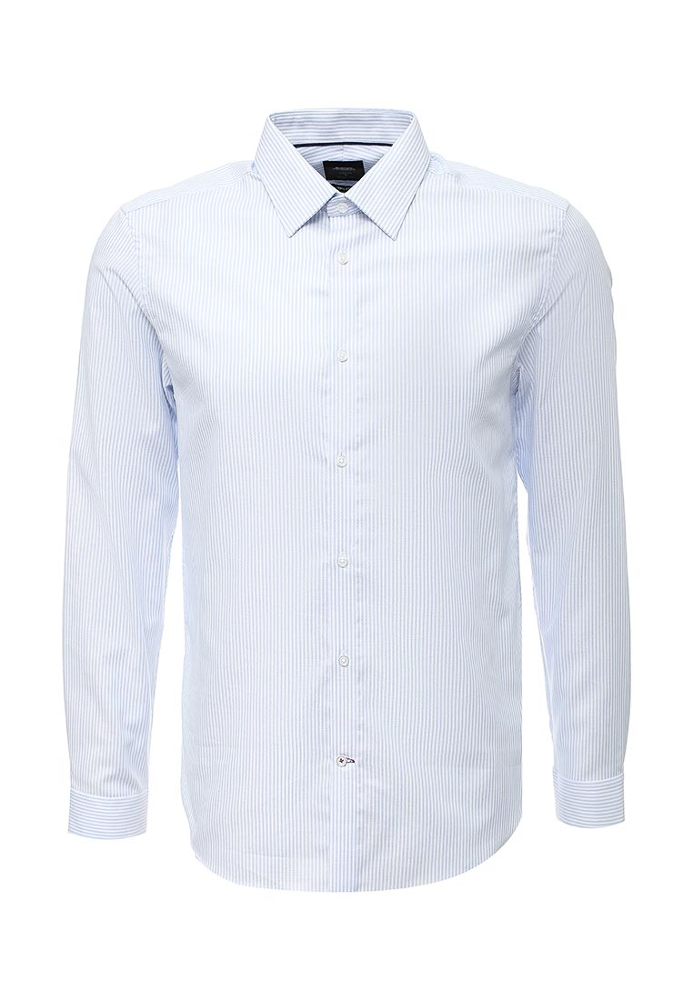 Рубашка с длинным рукавом Burton Menswear London 19F14LBLU