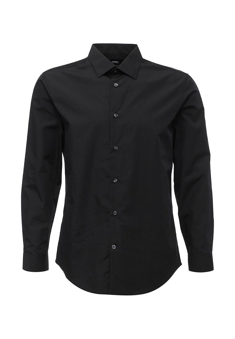 Рубашка с длинным рукавом Burton Menswear London 19E15LBLK
