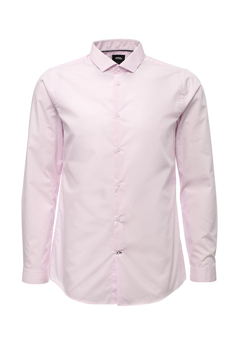 Рубашка с длинным рукавом Burton Menswear London 19E20LPNK