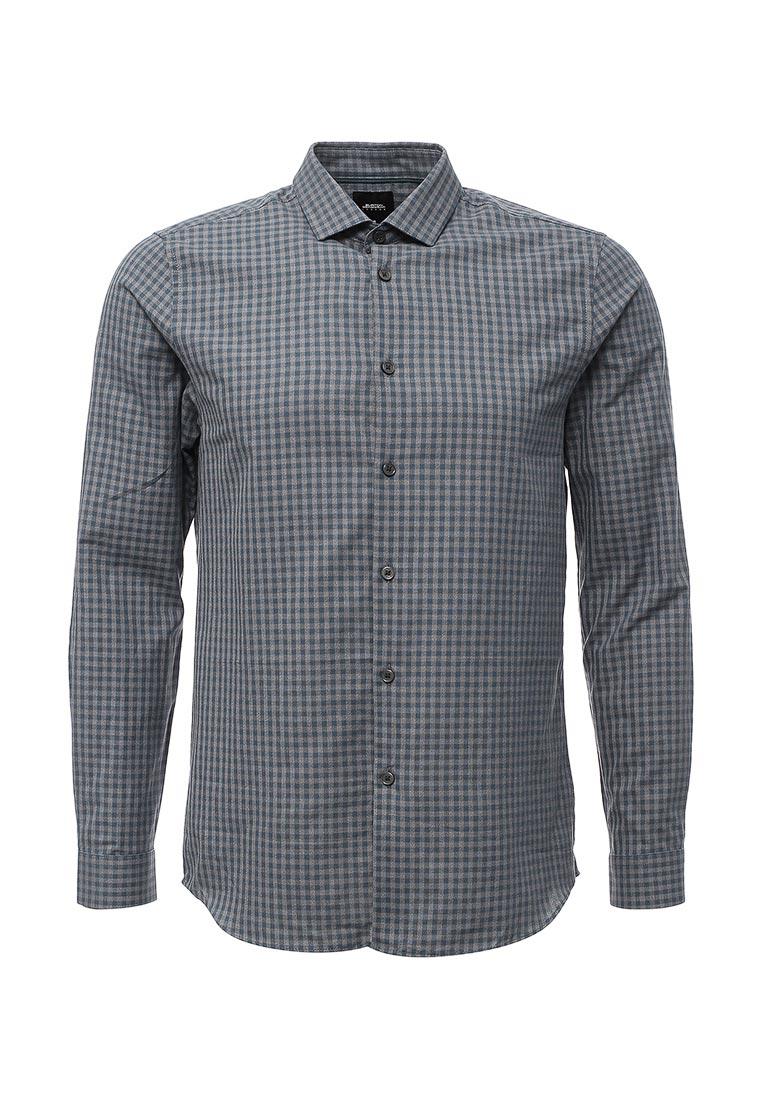 Рубашка с длинным рукавом Burton Menswear London 22C03LBLU