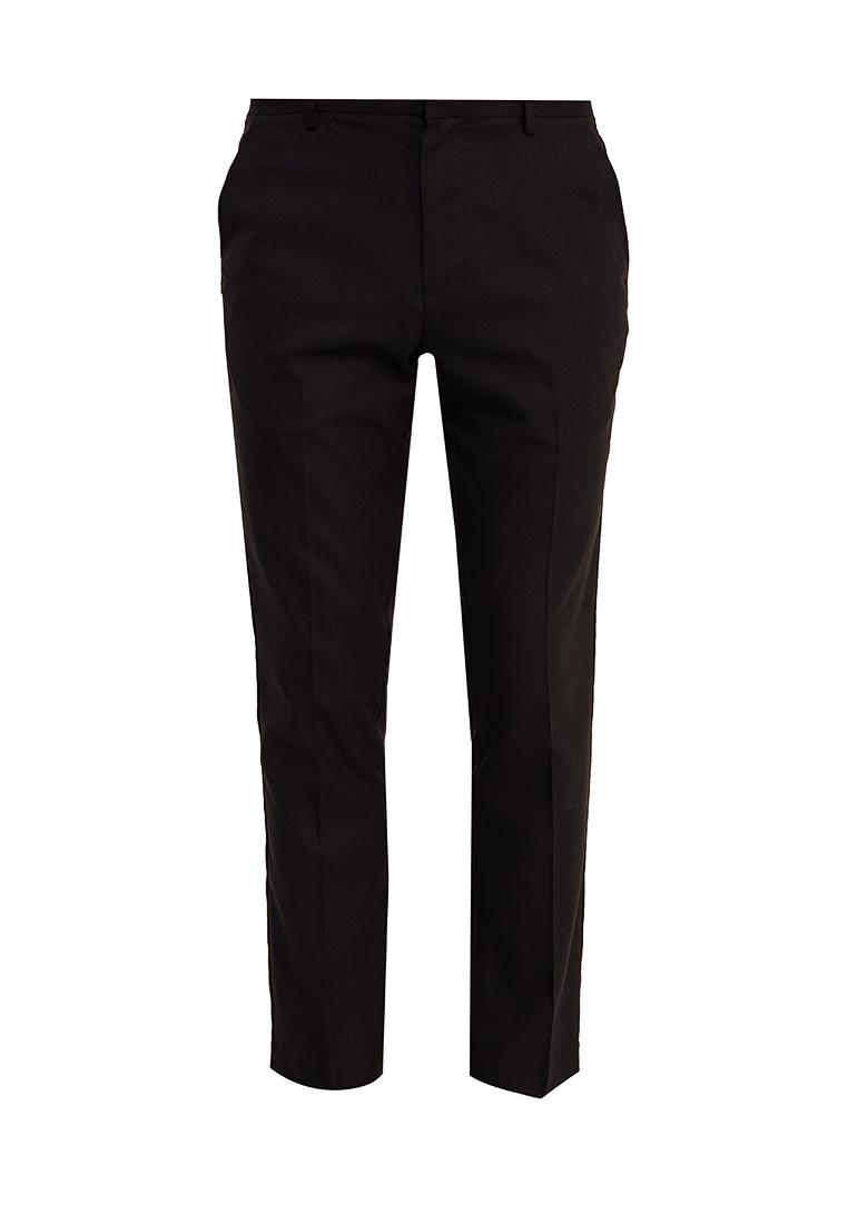 Мужские повседневные брюки Burton Menswear London 23S03LBLK