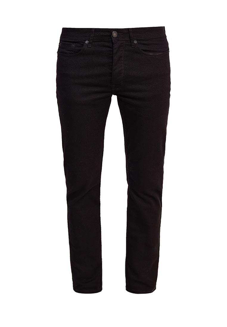 Зауженные джинсы Burton Menswear London 12K01LBLK