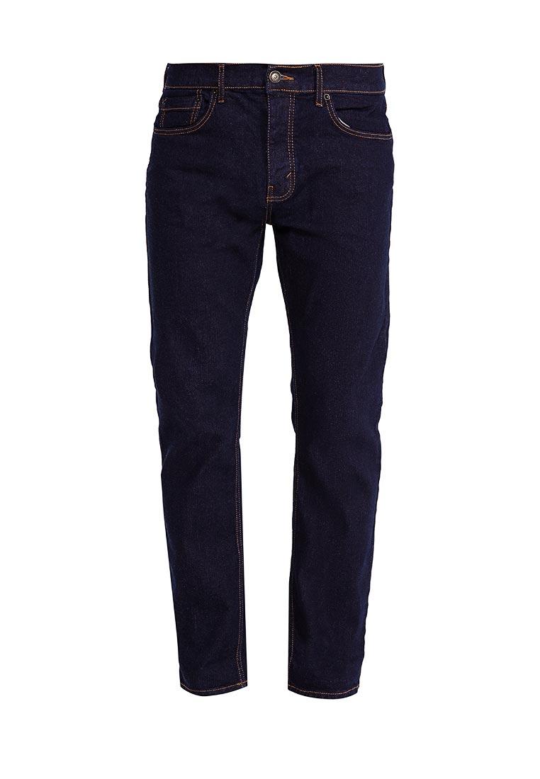 Мужские прямые джинсы Burton Menswear London 12T09LBLU