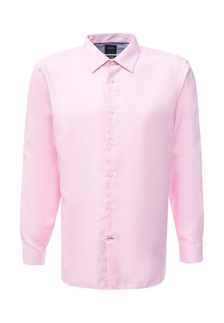 Рубашка с длинным рукавом Burton Menswear London 19F41LPNK