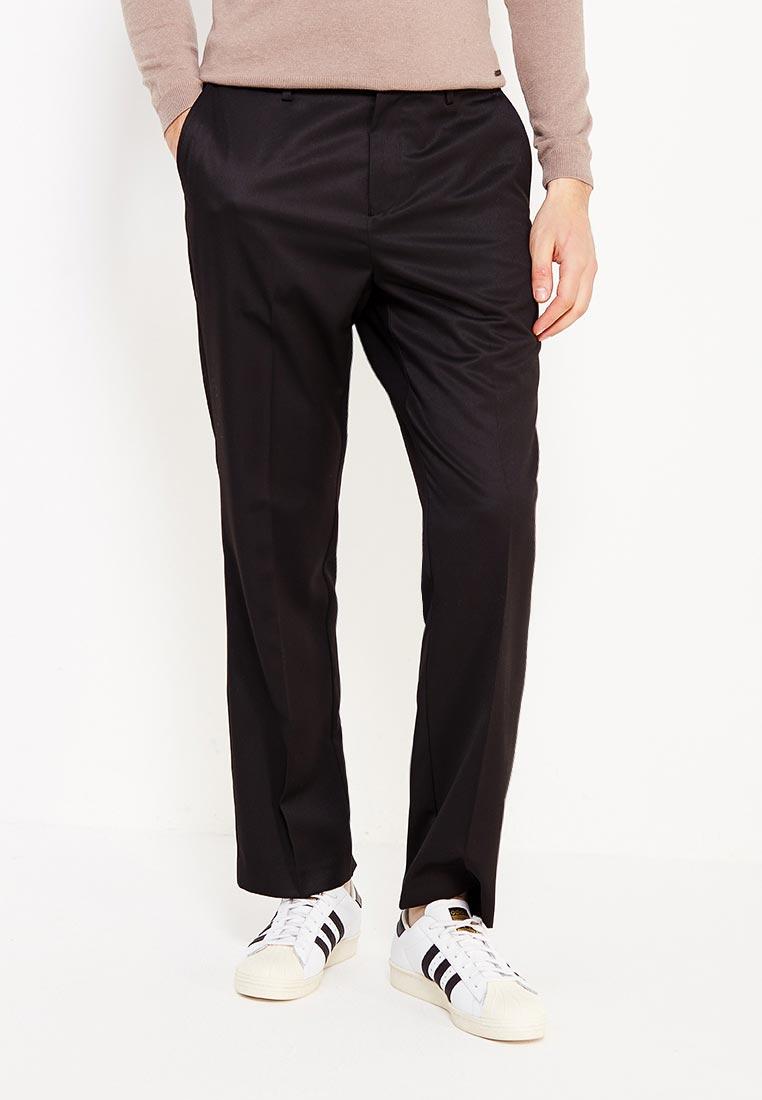 Мужские прямые брюки Burton Menswear London 23R03LBLK