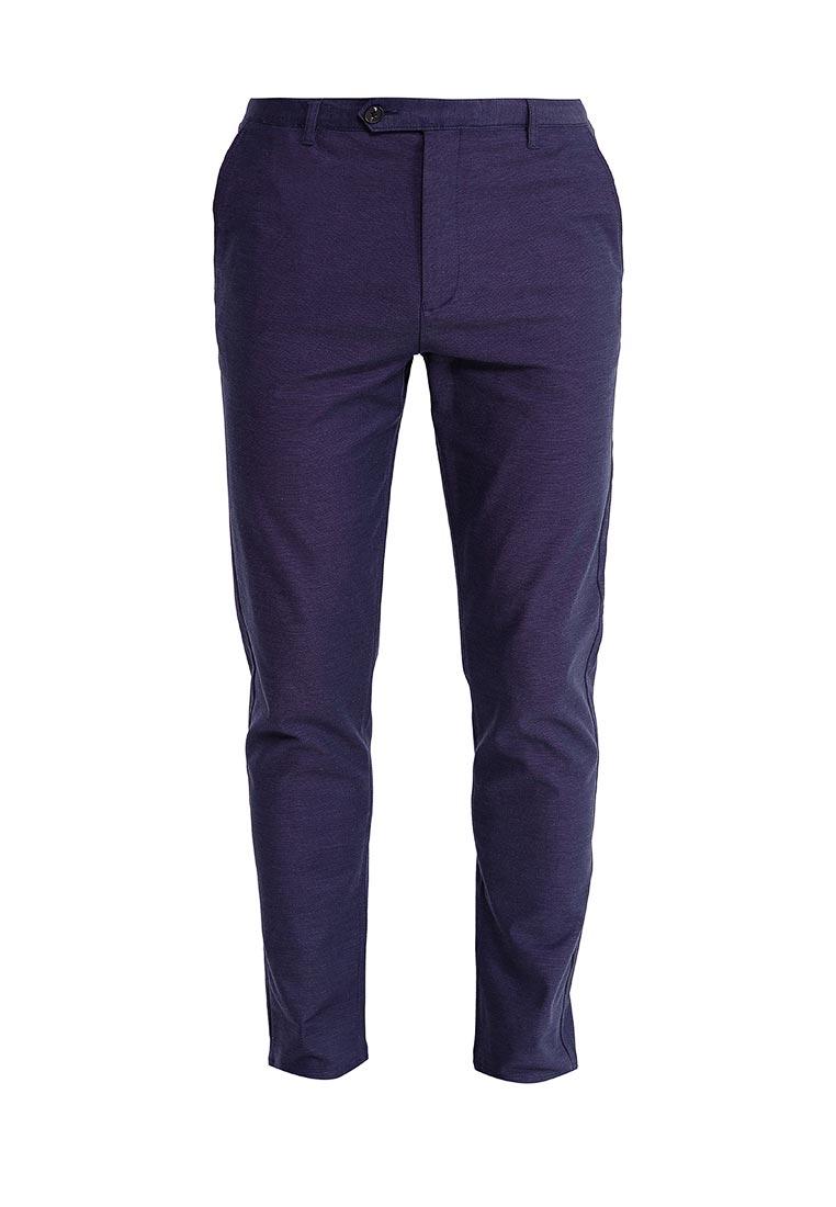 Мужские повседневные брюки Burton Menswear London 23S10LBLU