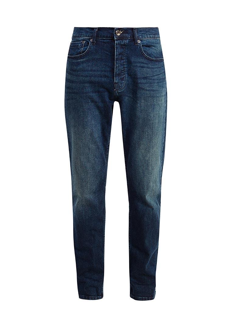 Мужские прямые джинсы Burton Menswear London 12T05LBLU