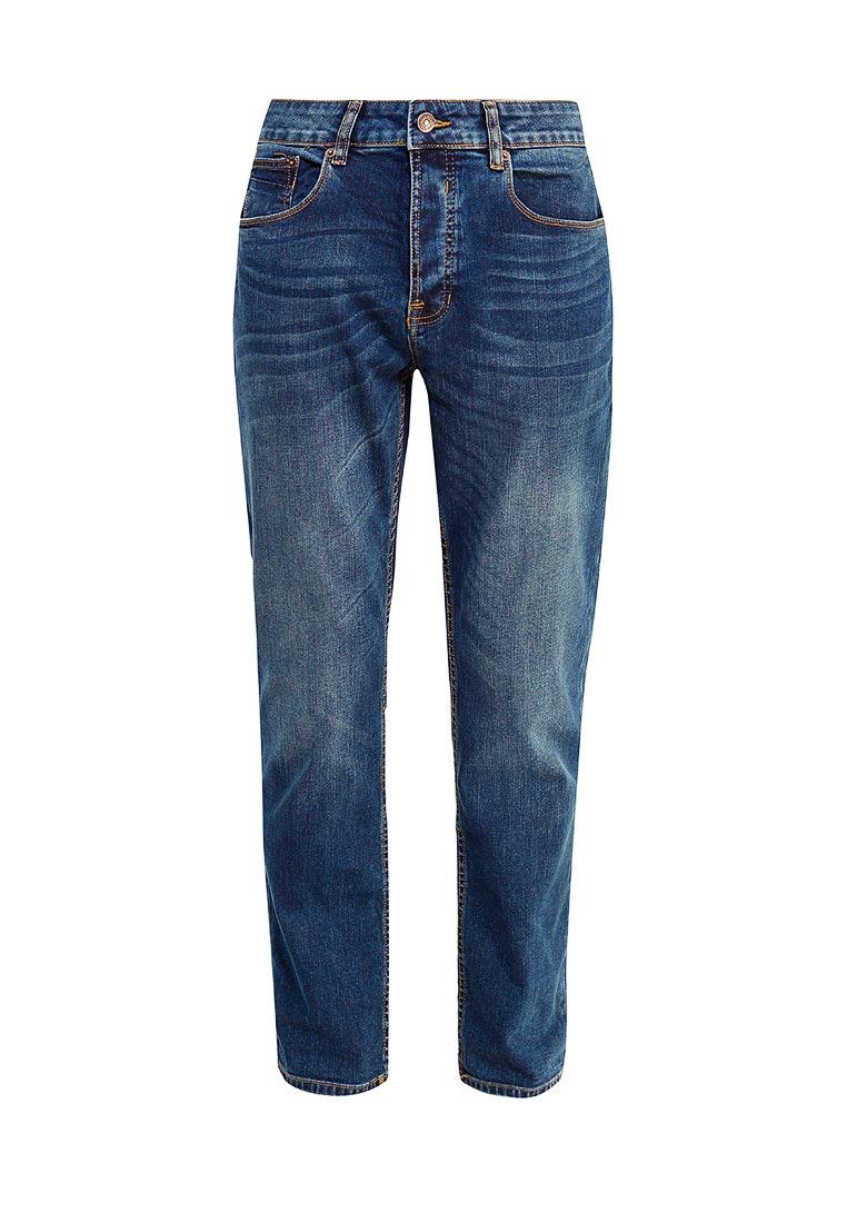 Мужские прямые джинсы Burton Menswear London 12T12LBLU
