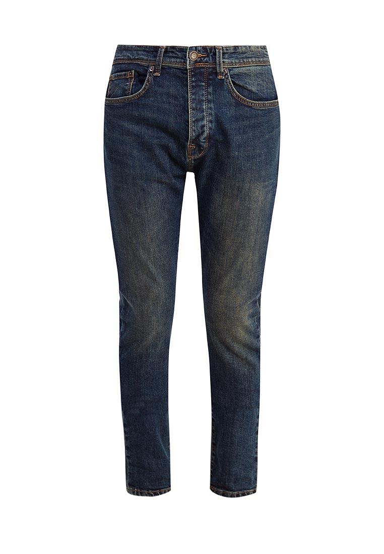 Зауженные джинсы Burton Menswear London 12T13LBLU