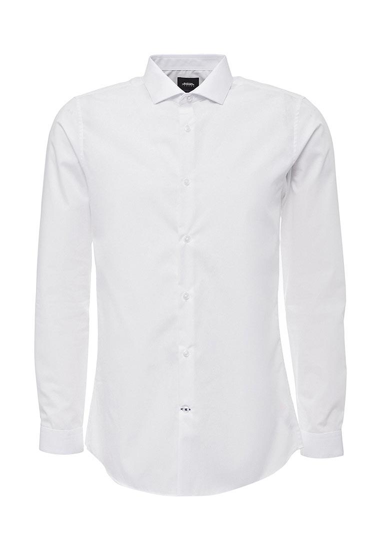 Рубашка с длинным рукавом Burton Menswear London 19E23LWHT