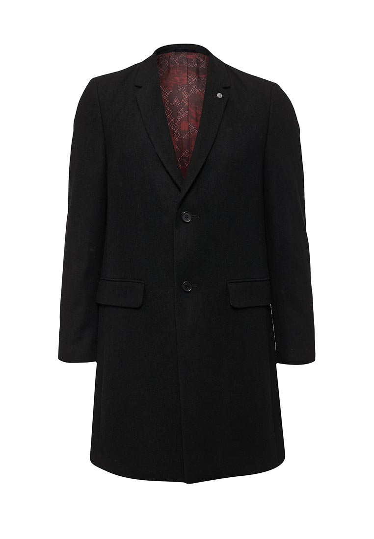 Мужские пальто Burton Menswear London 06W04LBLK