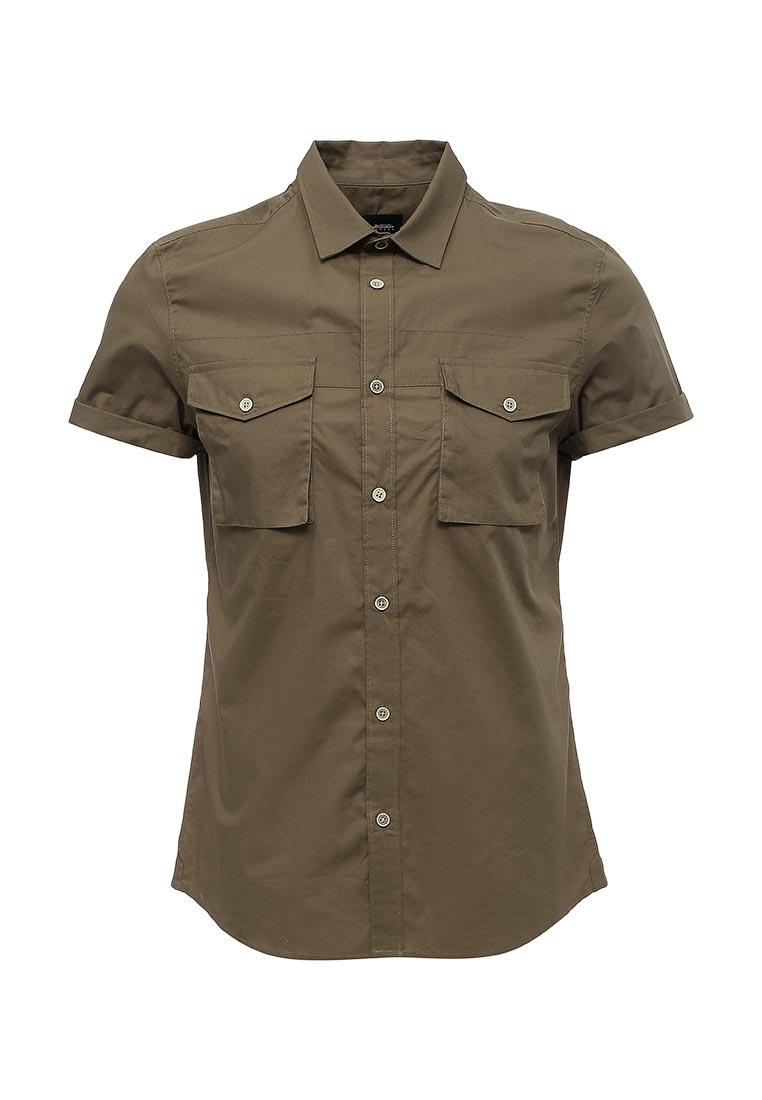 Рубашка с коротким рукавом Burton Menswear London 22P01KGRN