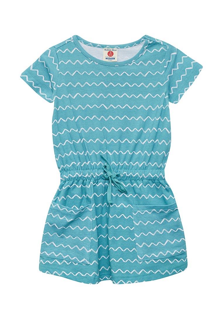 Повседневное платье Button Blue 118BBGC50013313