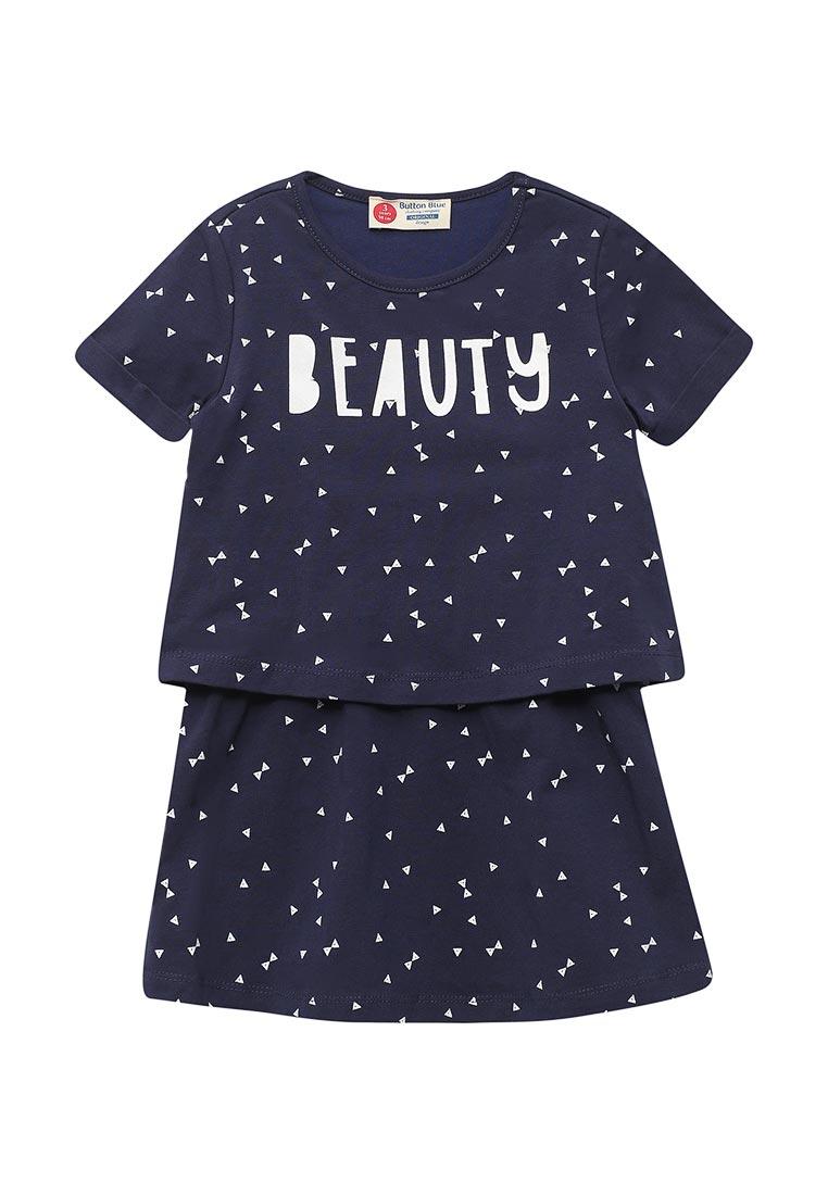 Повседневное платье Button Blue 118BBGC50051013