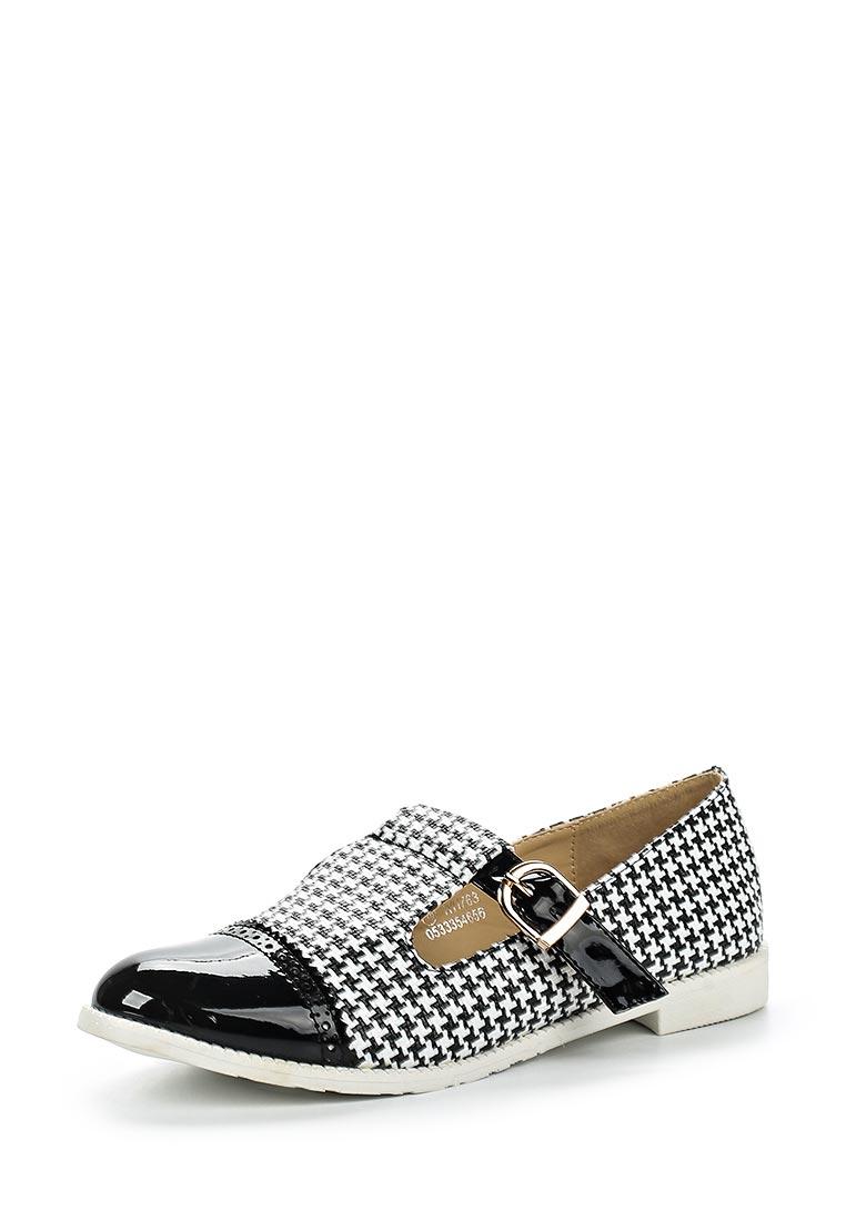 Туфли на плоской подошве Catisa F51-WH763