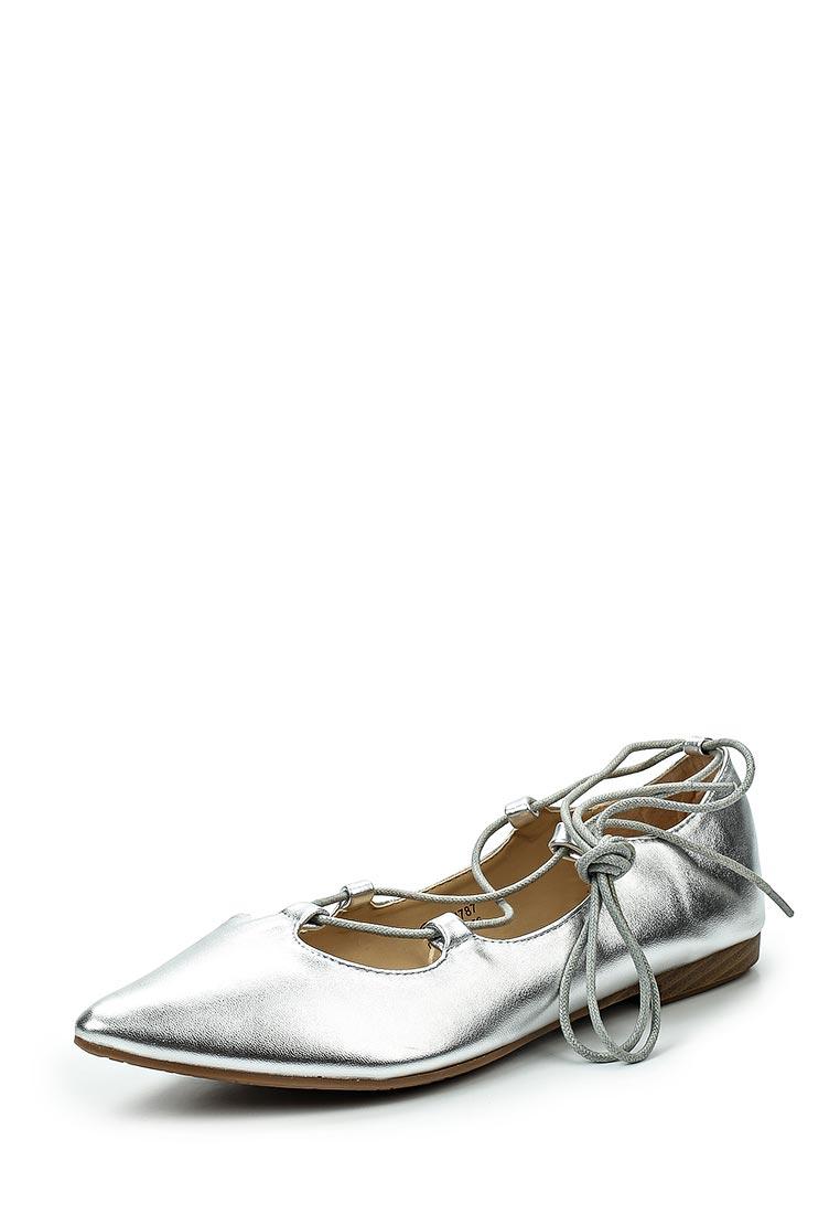 Туфли на плоской подошве Catisa F51-WH787