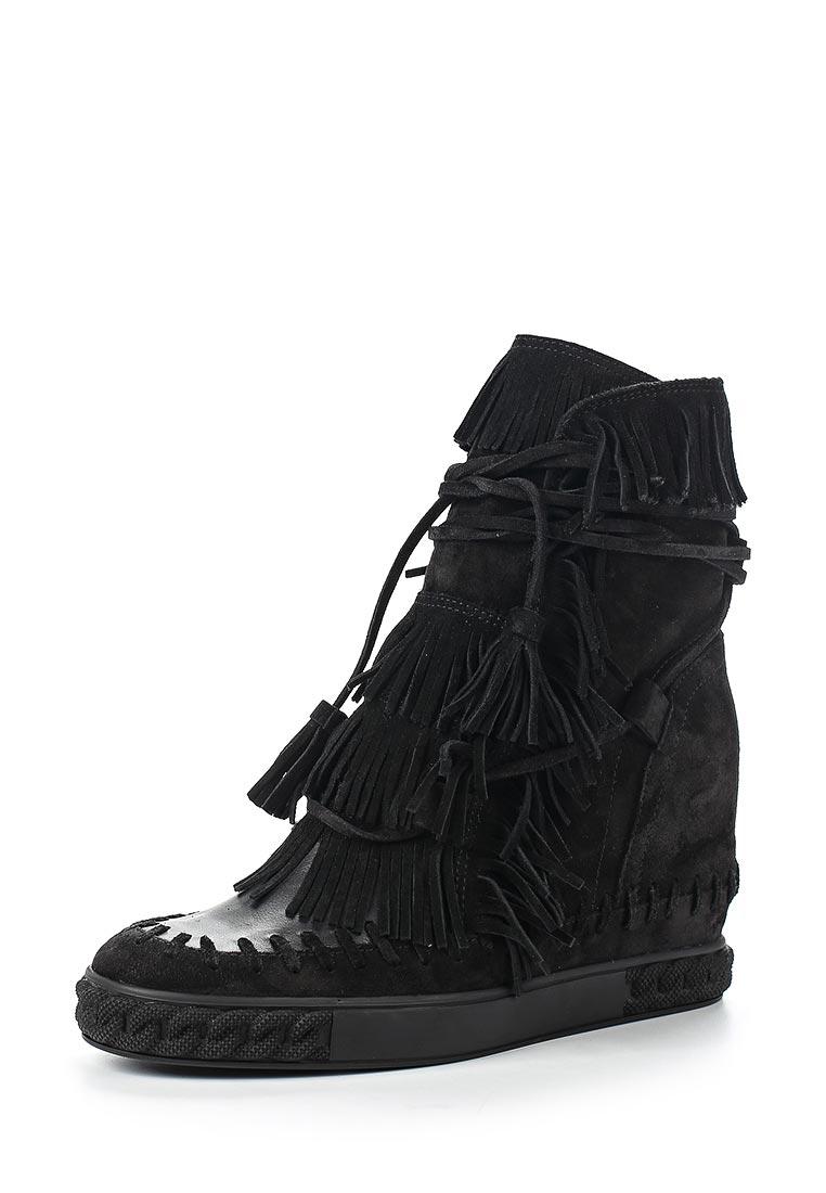 Женские кроссовки Casadei 2R060D080NRENN000