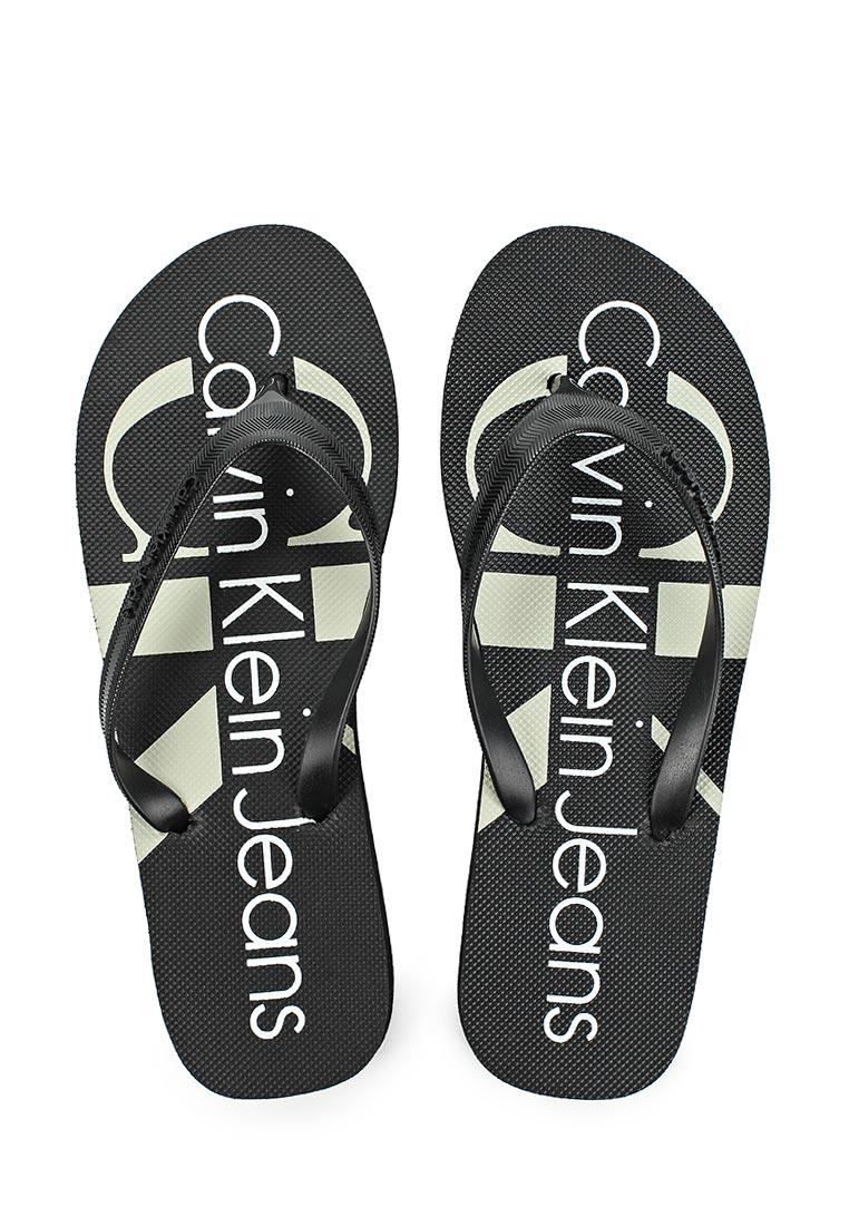 Женские сланцы Calvin Klein Jeans R8948