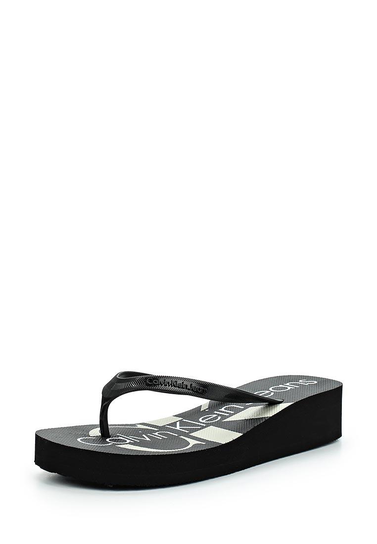Женские сланцы Calvin Klein Jeans RE9734