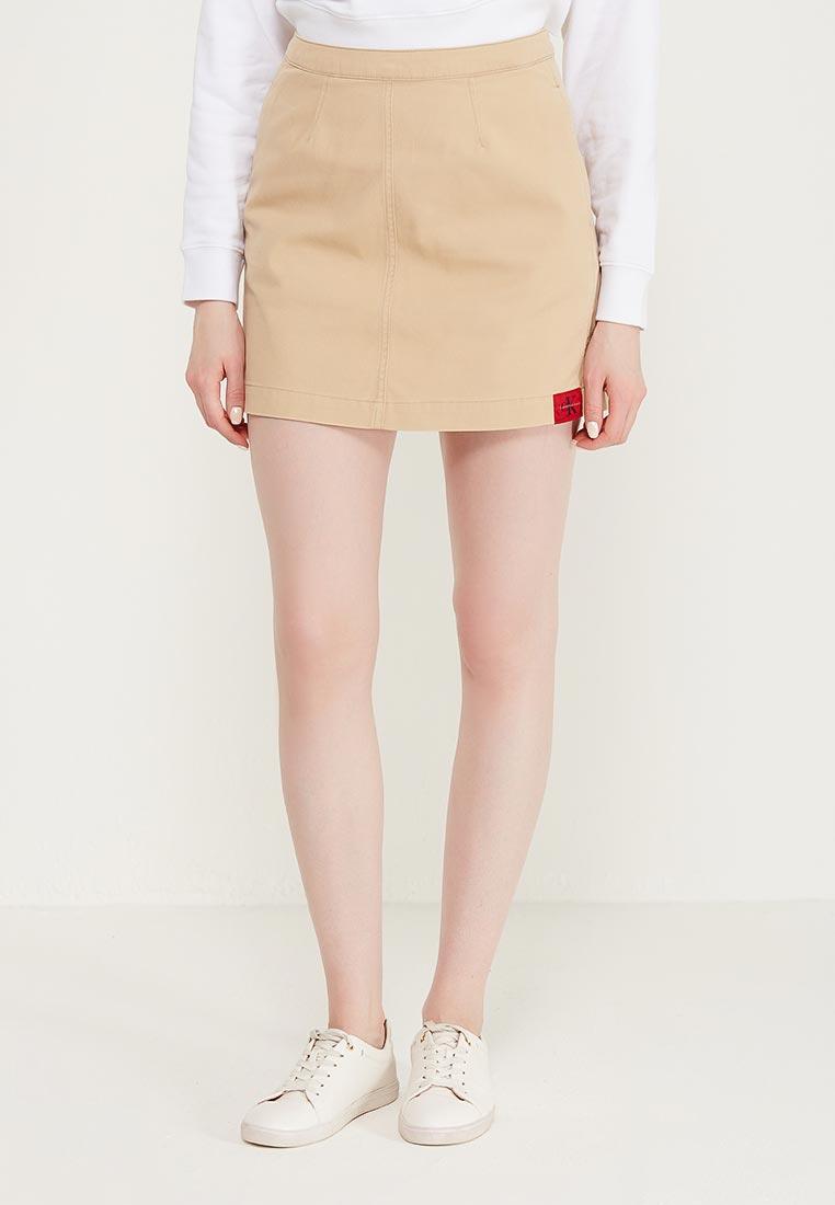 Прямая юбка Calvin Klein Jeans J20J207511