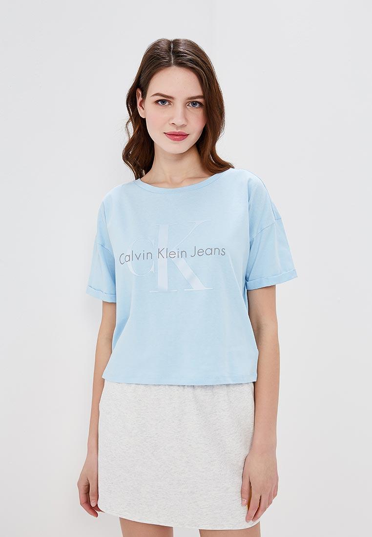Футболка с коротким рукавом Calvin Klein Jeans J20J207039
