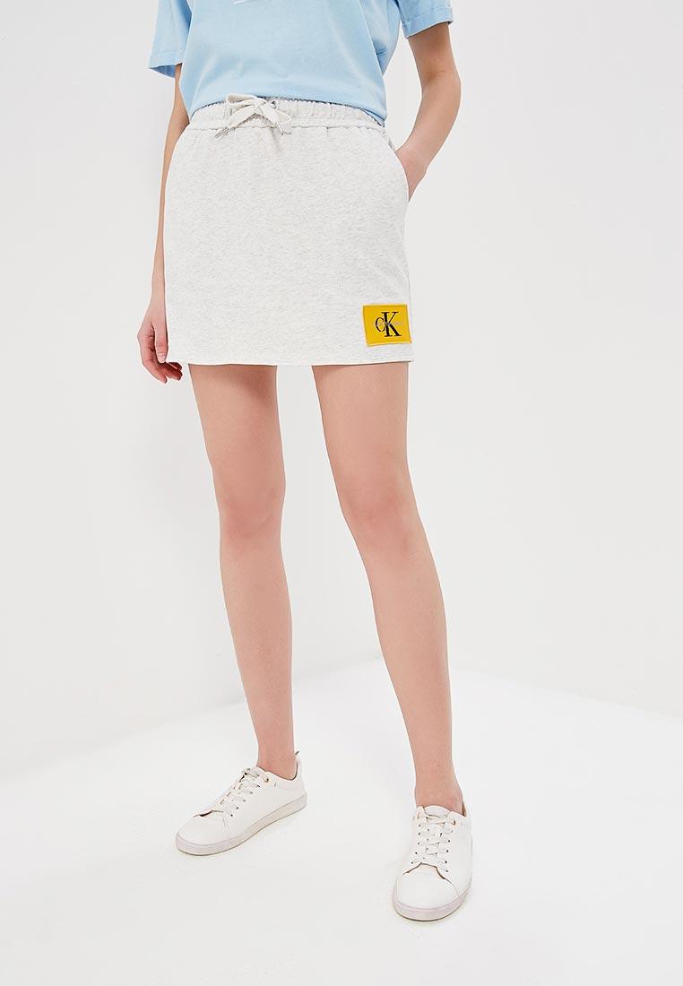Прямая юбка Calvin Klein Jeans J20J206882